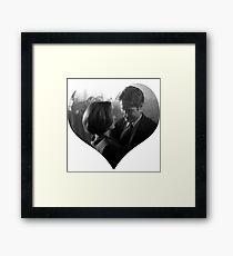 Scully & Mulder Dancing Framed Print