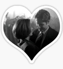 Scully & Mulder Dancing Sticker