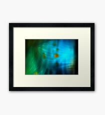 Emerald Amber Framed Print