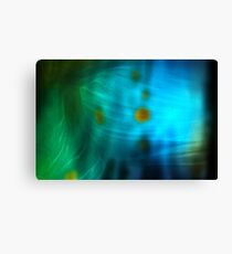 Emerald Amber Canvas Print