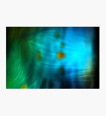 Emerald Amber Photographic Print