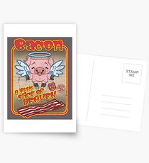 BACON! Postcards