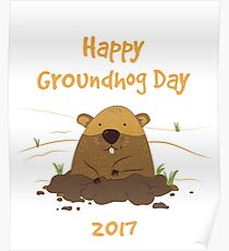 Groundhog Day 2017 Poster