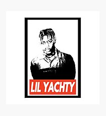 Lil Yachty obey design Photographic Print