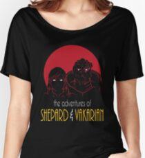 Adventures of FemShep and Vakarian Women's Relaxed Fit T-Shirt