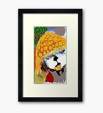 PANDA RAIDEN  Framed Print