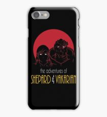 Adventures of FemShep and Vakarian iPhone Case/Skin
