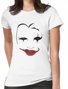 The Greatest Clown in the Galaxy Womens Fitted T-Shirt