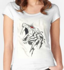 Saber Tooth Tiger Women's Fitted Scoop T-Shirt