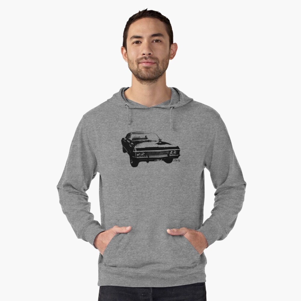 """Impala - """"Baby"""" Lightweight Hoodie Front"""