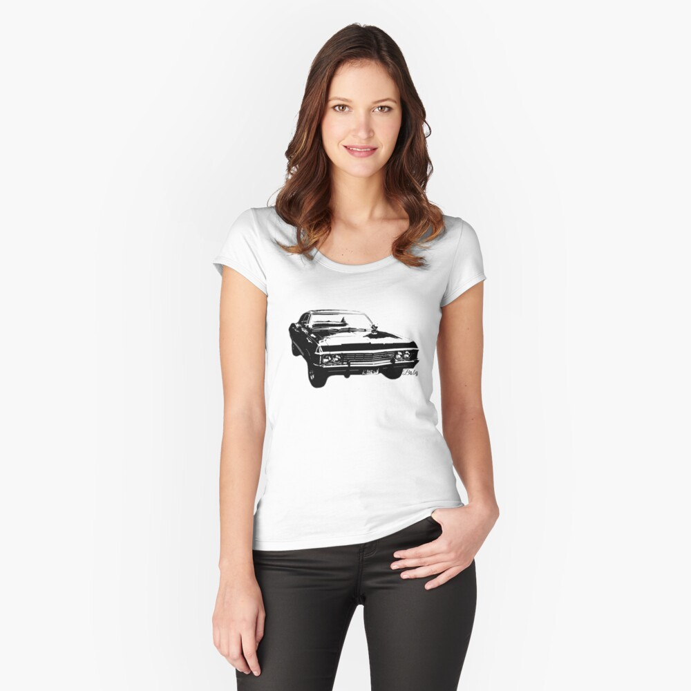 """Impala - """"Baby"""" Women's Fitted Scoop T-Shirt Front"""