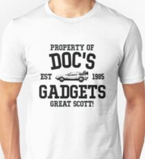 Back to the Future - Doc Unisex T-Shirt