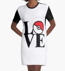 LOVE POKÉMON Graphic T-Shirt Dress