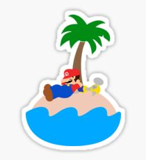 Super Mario Sunshine - Relaxation Sticker