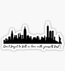 Sex and the City - Quote Sticker