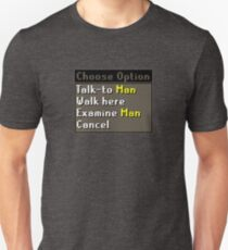 Oldschool Runescape Choose Option - Man T-Shirt