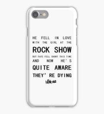 BLINK-182 Mixed Lyrics iPhone Case/Skin
