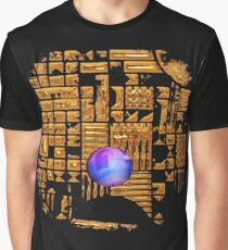 GOLD RUINS WITH GEM Graphic T-Shirt