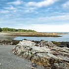 Idyllic landscape in Maine by unikatdesign