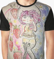 Strawberry Milk Graphic T-Shirt