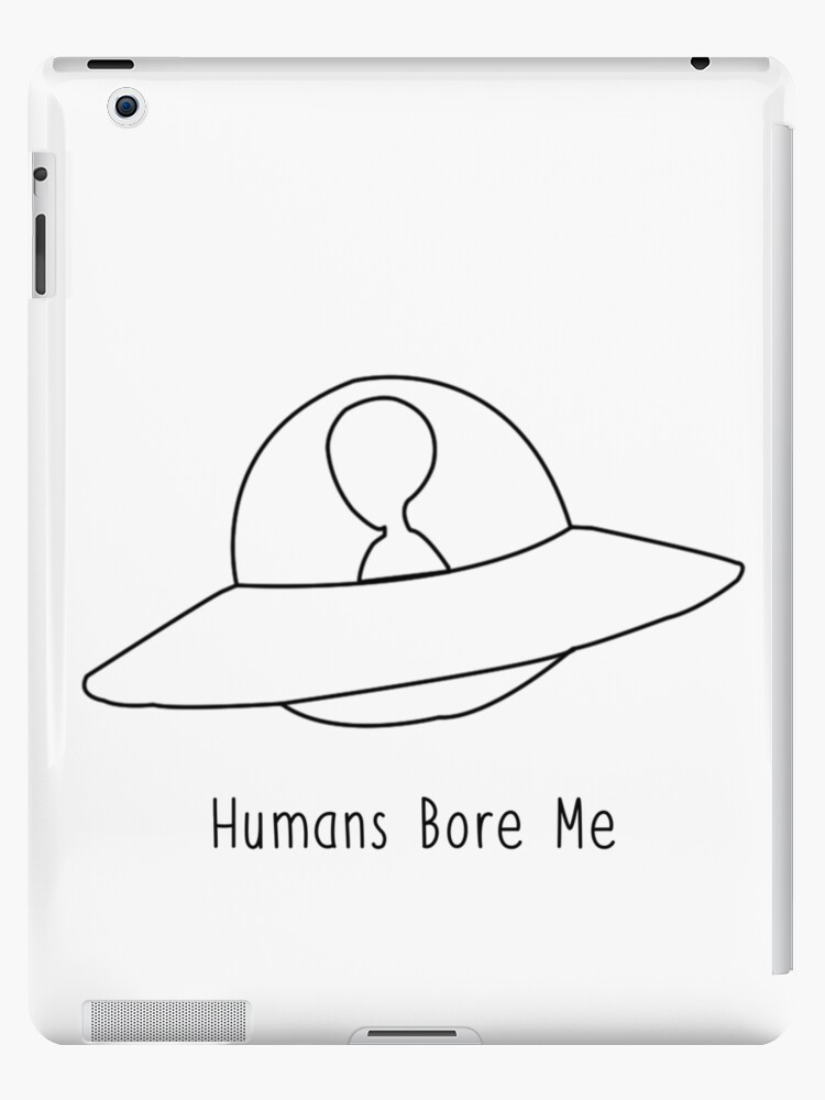 Alien Spaceship Tumblr Hipster Cute Design Ipad Cases Skins By