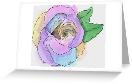 Pastel Rose by Artondra Hall