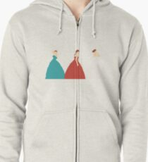 The Selection Trilogy Silhouettes Zipped Hoodie