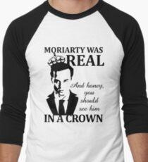 Moriarty Was Real Men's Baseball ¾ T-Shirt