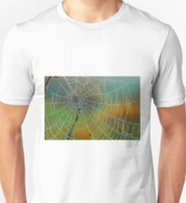 dew drops on web T-Shirt