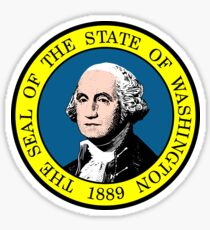 Flag of Washington State Sticker
