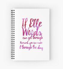 Legally Blonde Spiral Notebook