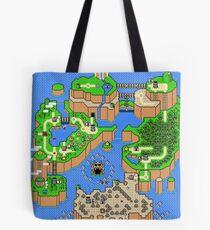 Super Mario World - Map  Tote Bag