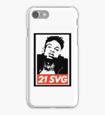 21 SAVAGE iPhone Case/Skin