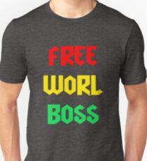 Vybz Kartel Free Worl Boss T-shirt & More Unisex T-Shirt