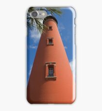 Ponce de Leon inlet Lighthouse iPhone Case/Skin