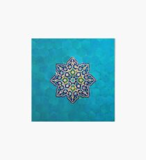 Persian Ceramic Design 52 Art Board