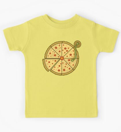 Pizza Vinyl Kids Clothes