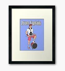 Drum Captain Framed Print