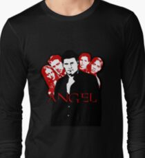 Angel Investigations: Black & Red Long Sleeve T-Shirt
