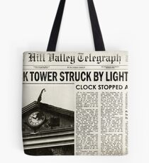 Hill Valley Telegraph Tote Bag