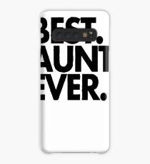 Best Aunt ever Case/Skin for Samsung Galaxy