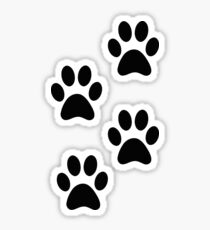 Paw Tracks Sticker