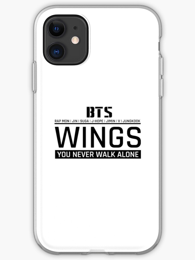 You never walk alone Wings Bts iphone case