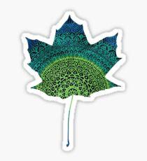 Leaf Mandala Sticker