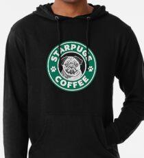 Star Pugs Kaffee - Starbucks Leichter Hoodie