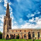 Higham Ferrers St Marys Church by Vicki Field