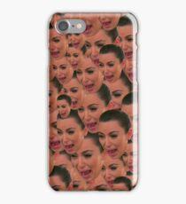 Kim Kardashian Ugly Crying Face Meme iPhone Case/Skin