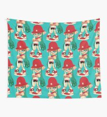 Retro Inkling Wall Tapestry