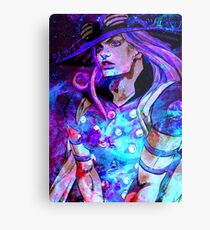 Gyro Zeppeli Space Aesthetic Metal Print