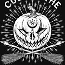 Cult of the Great Pumpkin Crossed Brooms by Chad Savage